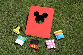 Bring Some Disney Magic To Your Next Picnic Or Outdoor BBQ With This Adorable Mickey Friends Bean Bag Toss Mouse Minnie Donald Duck