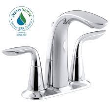 Bathtub Water Stopper Stuck by Pfister Venturi 4 In Centerset 2 Handle Bathroom Faucet In