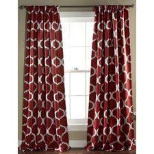 Striped Curtain Panels 96 by Exclusive Fabrics Cabana Cotton 96 Inch Horizontal Stripe Curtain
