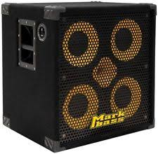 2x10 Bass Cabinet 8 Ohm by Markbass Standard 104hf Front Ported Neo 4x10 Bass Speaker Cabinet