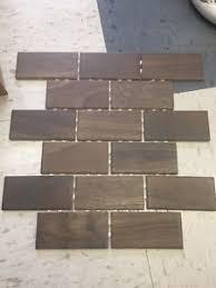10 sqft daltile 2x4 brick joint mosaic emblem em04 brown wall