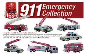 100 Emergency Truck Hess 911 Collection Jackies Toy Store