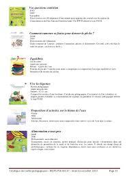 fiche p馘agogique atelier cuisine ireps17 catalogue outils pédagogiques antenne 17
