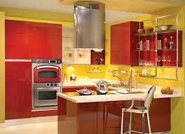 Yellow And Red Kitchen Decor
