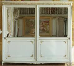 casa padrino luxus barock schlafzimmerschrank weiß gold 290 x 68 x h 254 cm kleiderschrank mit 2 verspiegelten schiebetüren edel prunkvoll