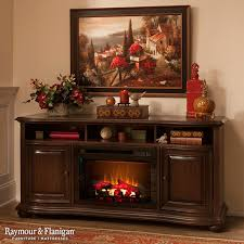 Raymour & Flanigan Furniture and Mattresses Furniture & Accessories Henderson TV Console w Electric Fireplace living room