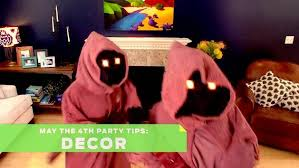 Star Wars Room Decor Australia by Star Wars Day May The 4th Party Tips Decor Games Disney