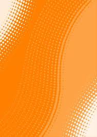 Poster Design Background Orange 4