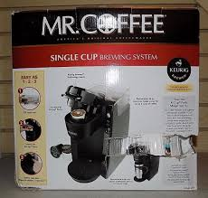 Mr Coffee BVMC KG5 001 1 Cup Brewing System