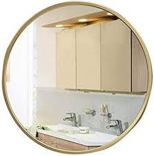 de loyolr home lron badezimmerspiegel gold