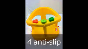 Infant Bathtub Seat Ring by Baby Bath Seat Yellow Tub Ring Keter Bathing Support Infant