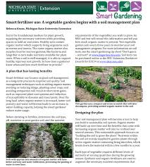 Fertilizer Requirements For Pumpkins by Smart Fertilizer Use A Vegetable Garden Begins With A Soil