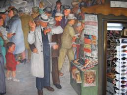 Coit Tower Murals Images by New Deal Art Living New Deal