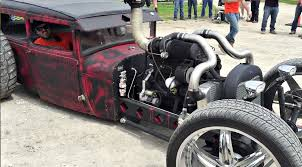 100 Rat Rod Semi Truck Love It Or Hate It Check Out This Bagged 4BT Cummins