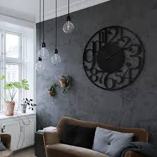 wanduhr aus acrylglas modern ø 70 cm wanddeko bild uhr