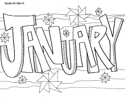 January Coloring Page Great 47 On Pages For Kids Online Picture