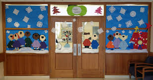 Classroom Christmas Decorations For Door