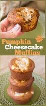 Pumpkin Cheesecake Snickerdoodles by Low Sugar Pumpkin Cheesecake Muffins The Weary Chef