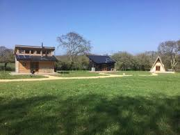 104 Eco Home Studio Friendly Tiny Silva With Space In Woodland Near Newport Isle Of Wight England