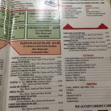 El Patio Bluefield Va Menu by 100 Images The Patio Restaurant Menu El Patio Menu The Mexcan