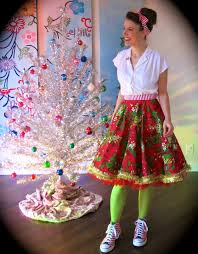 I Have Yet Another Tacky Christmas Tree Skirt To Lady In The Works Oh