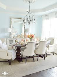 terrific light blue dining room ideas 35 for leather dining room
