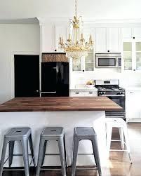 White Kitchen Black Appliances Ideas Best On Off