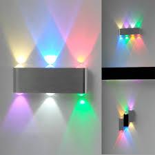 bedroom deco led modern light aluminum dining room wall decor