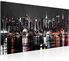 bilder new york city wandbild 100 x 40 cm vlies leinwand