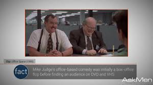 P5Clip Office Space 1999 Mike Judges Based Comedy Was Initially A Box Fact Flop Before Finding An Audience On DVD And VHS
