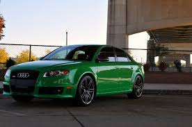 2008 Audi RS4 Amazing color Rare Cars for Sale BlogRare Cars