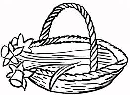 Basket Coloring Pages 15