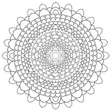 Coloring Pages Mandala Printable For Adults Free Pdf Mandalas Difficult
