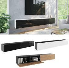 tv hängeboard lowboard schrank tisch board in hochglanz 210