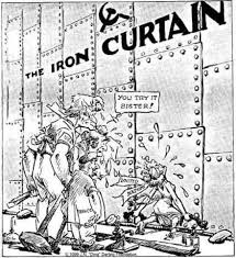 Churchills Iron Curtain Speech by Major Events Of The Cold War Timeline Timetoast Timelines