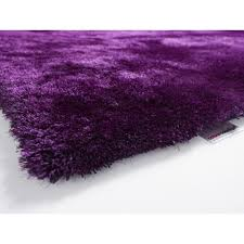 tapis aubergine pas cher tapis shaggy colour courage aubergine achat vente tapis