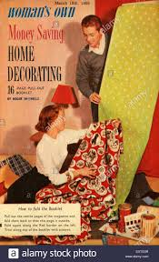 House Decorating Magazines Uk by 1950s Uk Home Decorating Magazine Cover Stock Photo Royalty Free