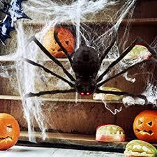 amazon com hotsan giant halloween spider 50 large fake spider