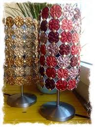 Used Nespresso Capsules Into Lamps Lights