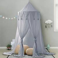 betthimmel für kinder baby baldachin spielzimmer fotografieren rund höhe 240cm prinzessin chiffon hängende moskitonnetz für schlafzimmer dekoration
