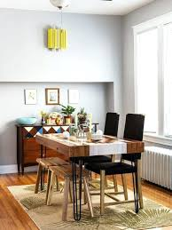Eclectic Dining Room Designs Inspiration For An Medium Tone Wood Floor And Beige Enclosed