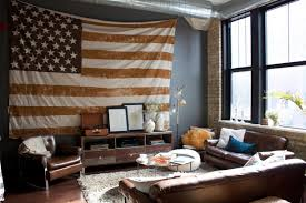 Checkered Flag Bedroom Curtains by American Flag Wall Decor