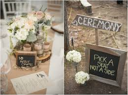 Diy Rustic Wedding Decorations Unique Country With