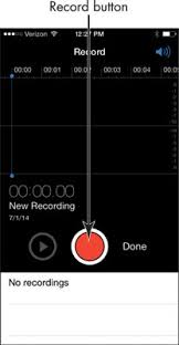 How to Record Audio and Voice Memos on Your iPhone 6 dummies