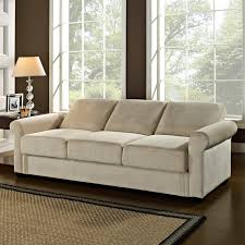 Brown Couch Living Room by Serta Dream Thomas Convertible Sofa Light Brown Hayneedle