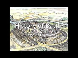 siege bce history of battle the siege of lachish 701 bce