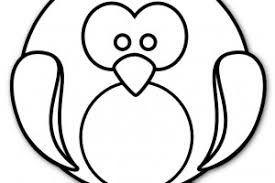 Penguin Printable Coloring Pages For Preschool