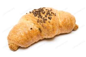 Chocolate Croissant Isolated On A White Background Photo By Mnmlst0 Envato Elements