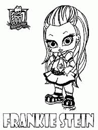 Monster High Lagoona Blue Coloring Page To Print And Free Download