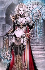 Lady Death By Sorah Suhng